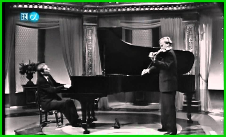 Glenn Gould Yehudi Menuhin